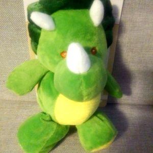 Kelly Baby Plush Dinosaur Rattle